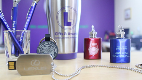 Lazer Ladies On-The-Go Promotional Items